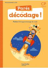 Parés au décodage CP - Méthode de lecture - Fichier 2 numérique enseignant - Ed. 2020