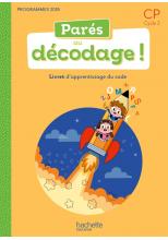 Parés au décodage CP - Méthode de lecture - Livret numérique enseignant - Ed. 2020