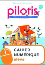 Lecture CP - Collection Pilotis - Cahier d'exercices numérique élève - Edition 2019