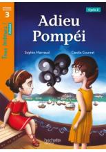 Adieu Pompéi Niveau 3 - Tous lecteurs ! Roman - Numérique élève - Ed. 2020