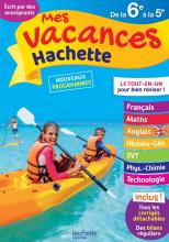 Mes Vacances Hachette - De la 6e à la 5e - Cahier de vacances 2021