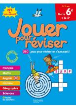 Jouer pour réviser - De la 6e à la 5e - Cahier de vacances 2021