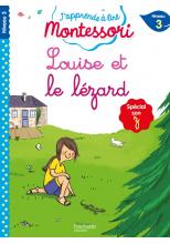 Louise et le lézard (son z/s), niveau 3 - J'apprends à lire Montessori