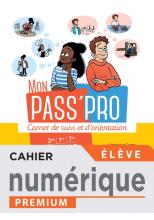 Mon Pass'Pro - Manuel numérique élève - Éd. 2020