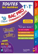 Objectif BAC PRO Métiers du commerce et de la vente