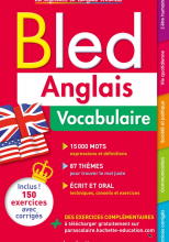 Bled Anglais Vocabulaire