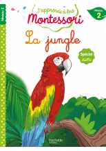 La jungle (son UN), niveau 2 - J'apprends à lire Montessori