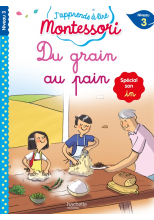 Du grain au pain (son in), niveau 3 - J'apprends à lire Montessori