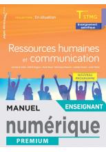 Ressources Humaines et communication - Terminale STMG  - En Situation - Manuel num enseig - Éd. 2021