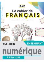Français CAP - Manuel numérique enseignant - Éd. 2021