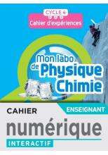 Mon labo de Physique-Chimie cycle 4 - Cahier numérique enseignant - Ed. 2021