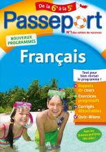 Passeport - Français de la 6e à la 5e - Cahier de vacances 2021
