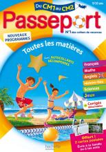 Passeport Cahier de Vacances 2020 - Toutes les matières du CM1 au CM2 - 9/10 ans