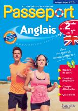 Passeport - Anglais de la 2de à la 1re - Cahier de vacances 2021
