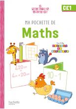 Ma pochette de maths CE1 - Les Pochettes Ateliers - Numérique élève - Ed. 2021