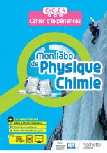 Mon labo de Physique-Chimie cycle 4 - cahier d'expériences - Ed. 2021
