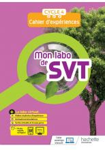 Mon labo de SVT cycle 4 - cahier d'expériences - Ed. 2021