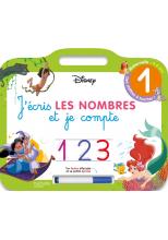 Disney - Les grands Classiques Disney - Ardoise J'écris les nombres et je compte  (3-6 ans)