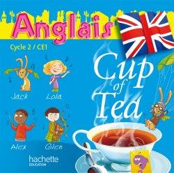 Cup of Tea Anglais CE1 - Double CD audio classe - Ed.2010