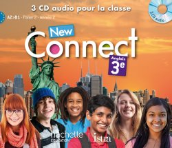 New Connect 3e / Palier 2 année 2 - Anglais - CD audio classe - Edition 2014