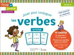 Coup de pouce pour apprendre Hachette Istra - Jeu de cartes - Le futur - 2020