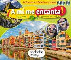 A mi me encanta espagnol cycle 4 / 3e LV2 - Coffret CD/DVD classe - éd. 2017