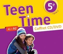 Teen Time anglais cycle 4 / 5e - Coffret CD/DVD classe - éd. 2017
