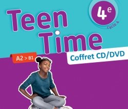 Teen Time anglais cycle 4 / 4e - Coffret CD/DVD classe - éd. 2017
