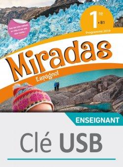 Miradas 1ère - Clé USB - Ed. 2019
