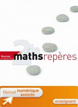 Manuel numérique Repères Mathématiques seconde - Licence enseignant - Edition 2010