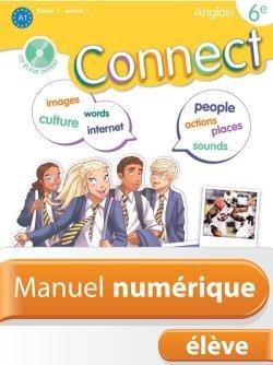 Manuel numérique Connect anglais 6e - Licence élève - Edition 2011