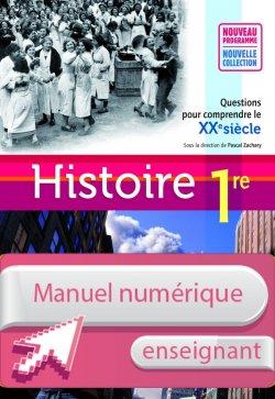 Manuel numérique Histoire 1res ES/L/S - Licence enseignant - Edition 2011