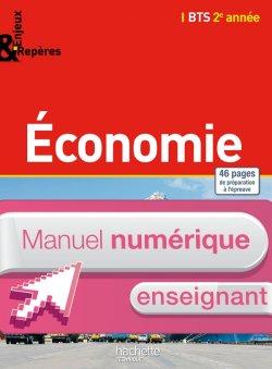 Enjeux Repères - Economie BTS 2e année - Manuel numérique enseignant simple - Ed. 2015