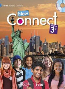 New Connect 3e / Palier 2 année 2 - Anglais - Livre de l'élève + CD élève inclus - Edition 2014
