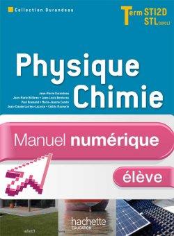 Physique Chimie Term. STI2D/STL (option SCL) - Manuel numérique élève - Ed. 2012