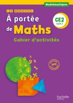 Le Nouvel A portée de maths CE2 - Cahier de géométrie - Ed. 2017