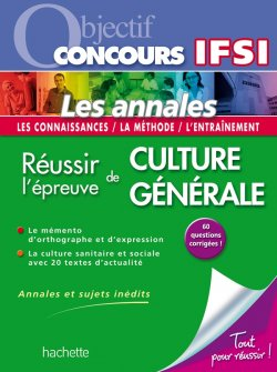 Objectif Concours Fiches Tests d'aptitude IFSI