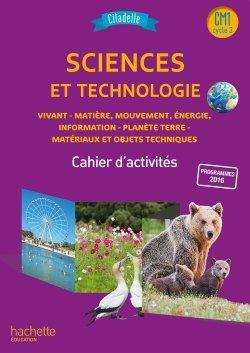 Citadelle Sciences CM - Cahier numérique CM1 version élève - Ed. 2018