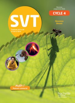SVT cycle 4 / 5e, 4e, 3e - Livre élève - éd. 2017
