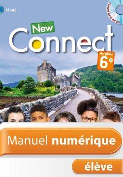 Manuel numérique anglais New Connect 6e - Licence élève - Edition 2015