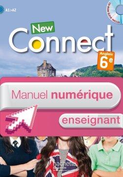Manuel numérique anglais New Connect 6e - Licence enseignant - Edition 2015