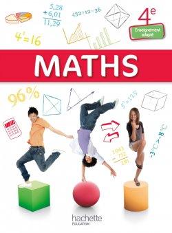 Mathématiques 4e Enseignement adapté - Livre élève consommable - Ed. 2015