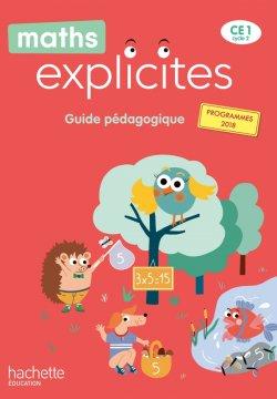 Maths Explicites CE1 - Guide pédagogique + Clé USB - Edition 2020