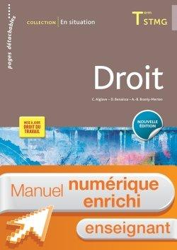 En situation Droit Tle STMG - Manuel interactif enseignant - Éd. 2018