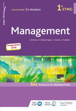 En Situation Management 1re Stmg Livre Eleve Ed 2019 Hachette Education Enseignants