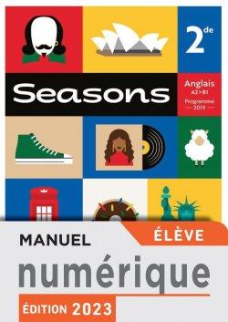 Manuel numérique Seasons 2nde - Licence élève - Ed. 2019