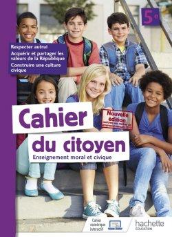 Cahier du citoyen 5e - éd. 2019