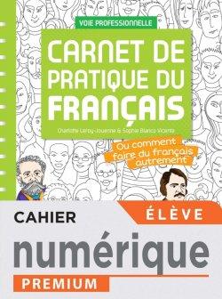 Carnet de pratique du Français - manuel numérique élève -  Éd. 2021