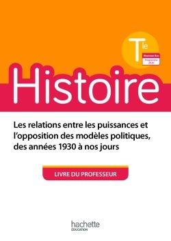 Histoire Terminales - Livre du professeur - Ed. 2020