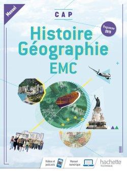 Histoire-Géographie-EMC CAP - Livre élève (manuel) - Éd. 2019